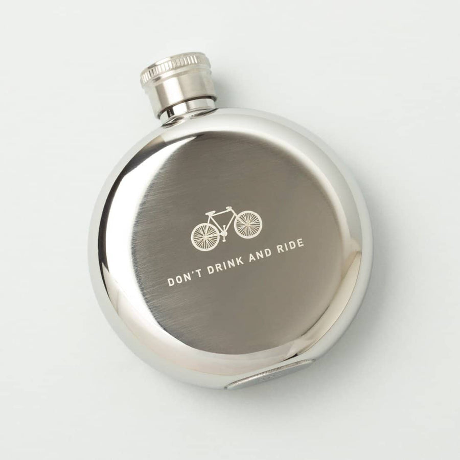 Don't Drink and Ride 3oz. Flask