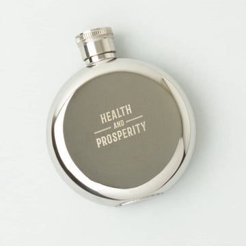 Health & Prosperity Flask