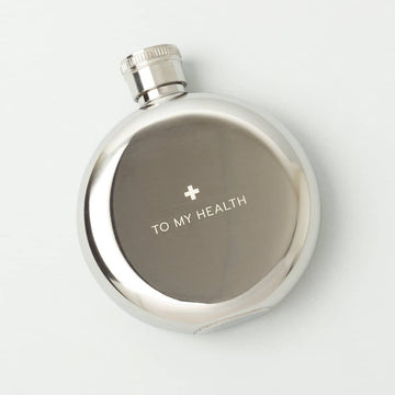 To My Health 3oz. Flask