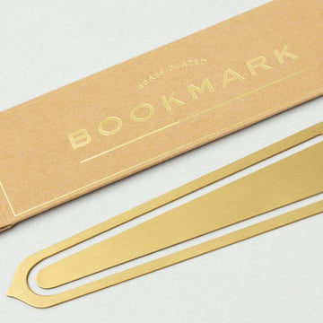 Blank Brass Bookmark