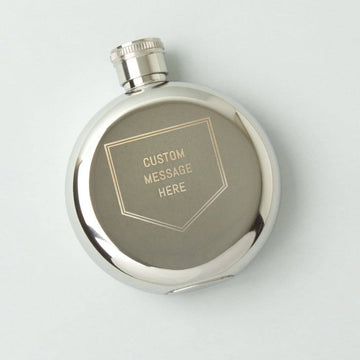 Personalized 3oz Flask