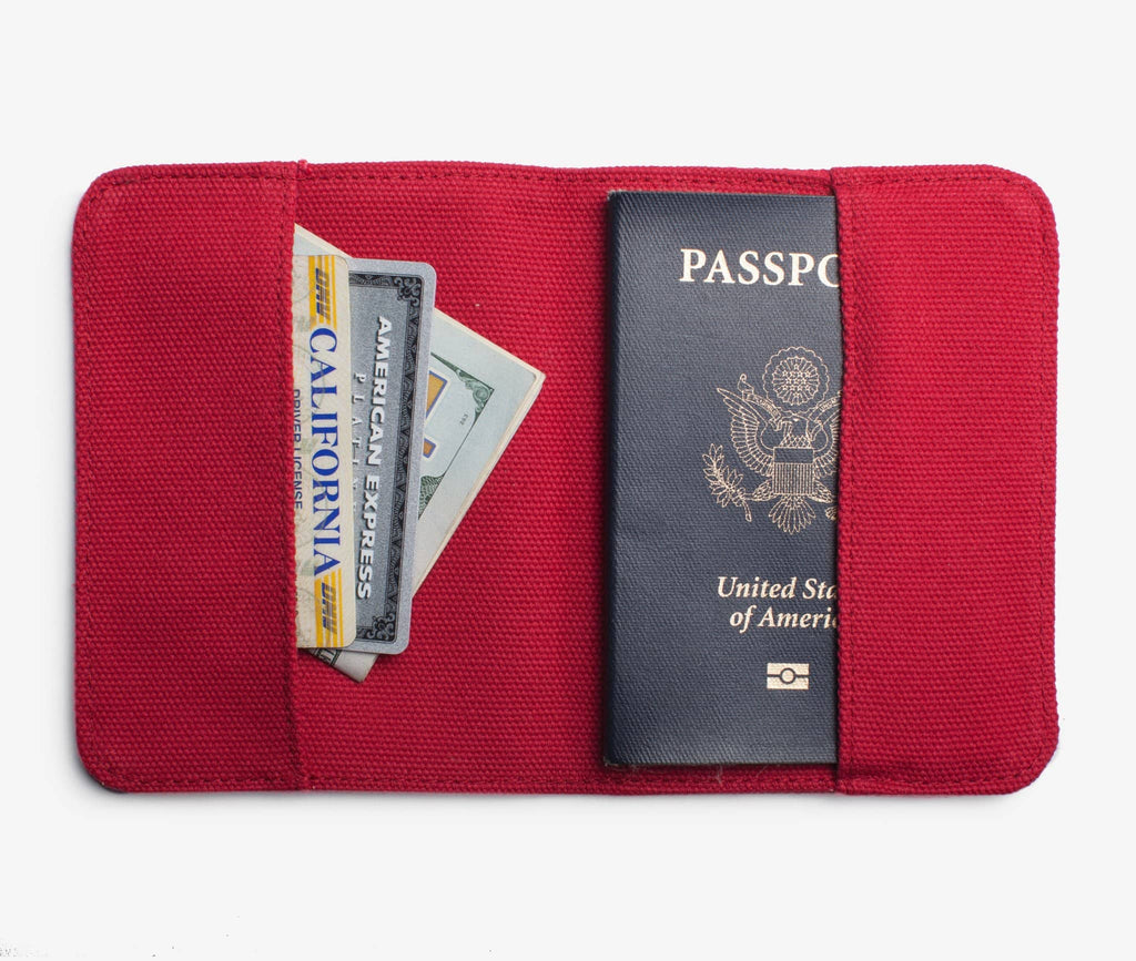 Jet Set Passport Holder