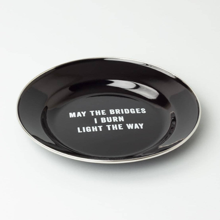 Bridges Enamel Plate