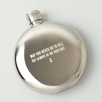 May You Never... 5oz. Flask