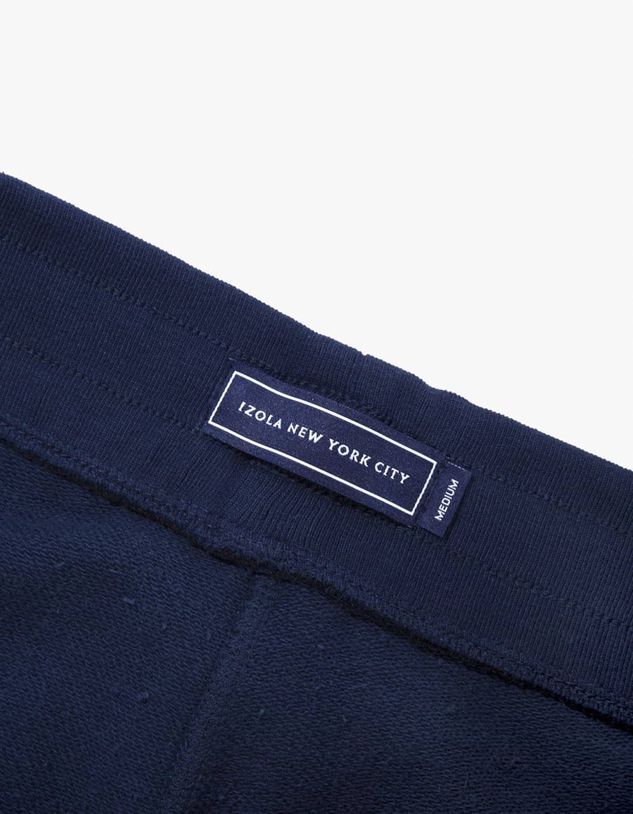 MIDWEIGHT TERRY SWEAT SHORTS - NAVY