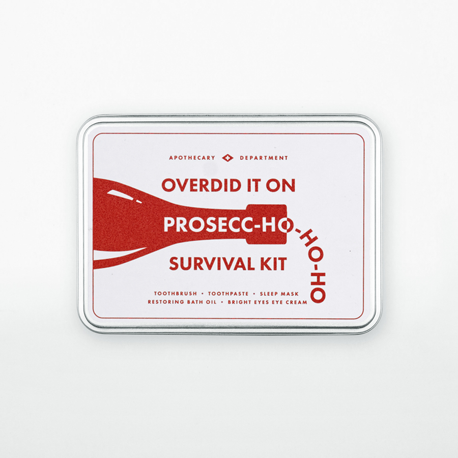 Prosecc-Ho-Ho-Ho Survival Kit