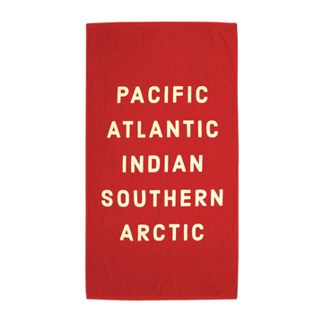 Pacific, Atlantic Beach Towel