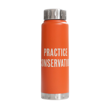 'Practice Conservation' Water Bottle - 25 oz.
