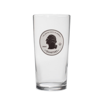 Quarters Pint Glass