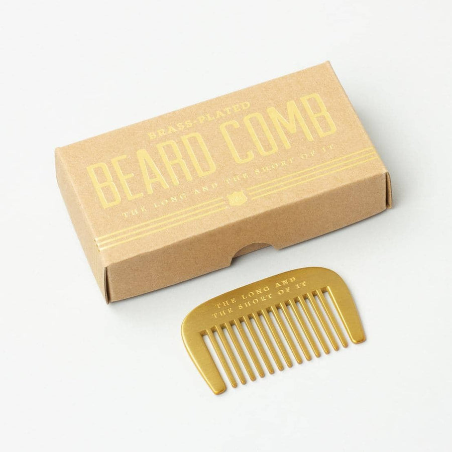 Beard Comb - The Long and Short of It