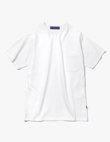 UTILITY POCKET S/S TEE - WHITE