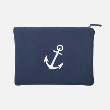 Anchor Zipper Pouch