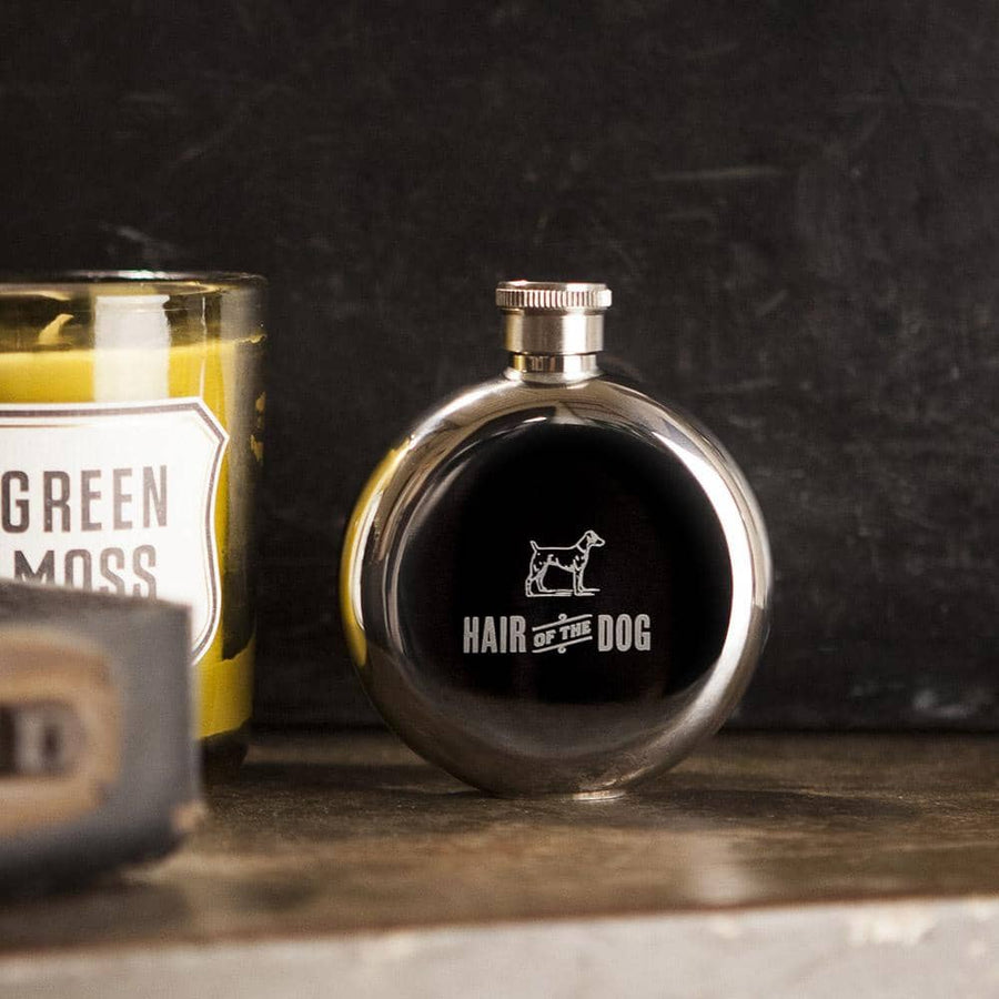 Hair of the Dog 3oz. Flask