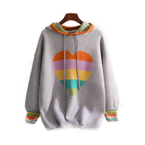 Pride- inspired knitted sweater