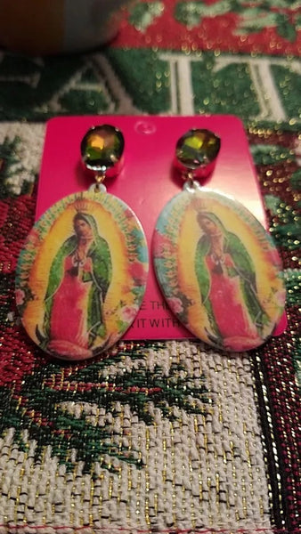 Mama Mary earrings