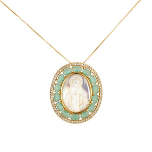 Mama Mary 2 necklace