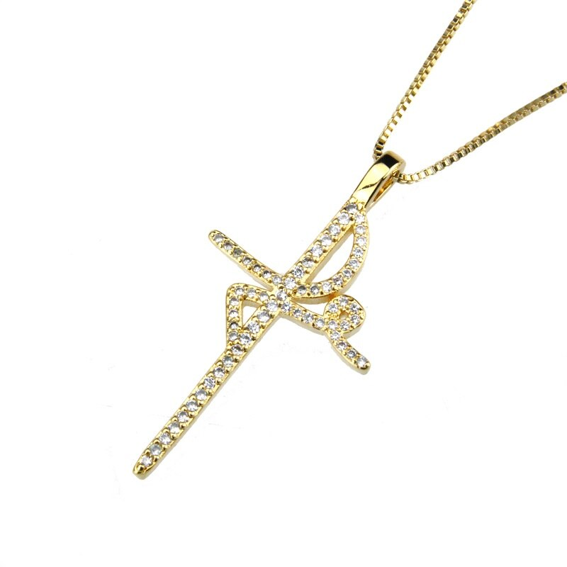 Cross 3 necklace