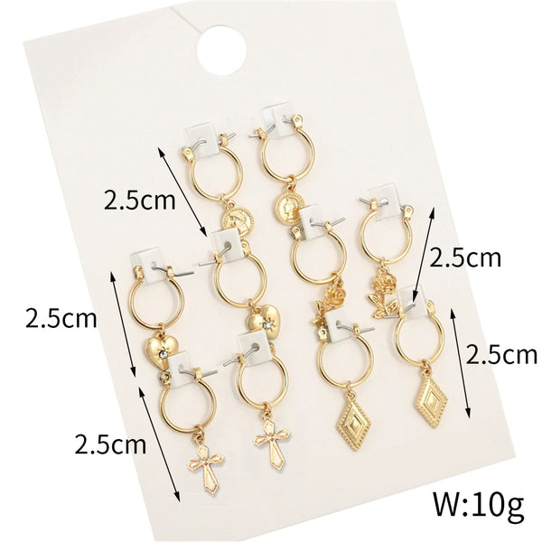 The more the merrier earrings set