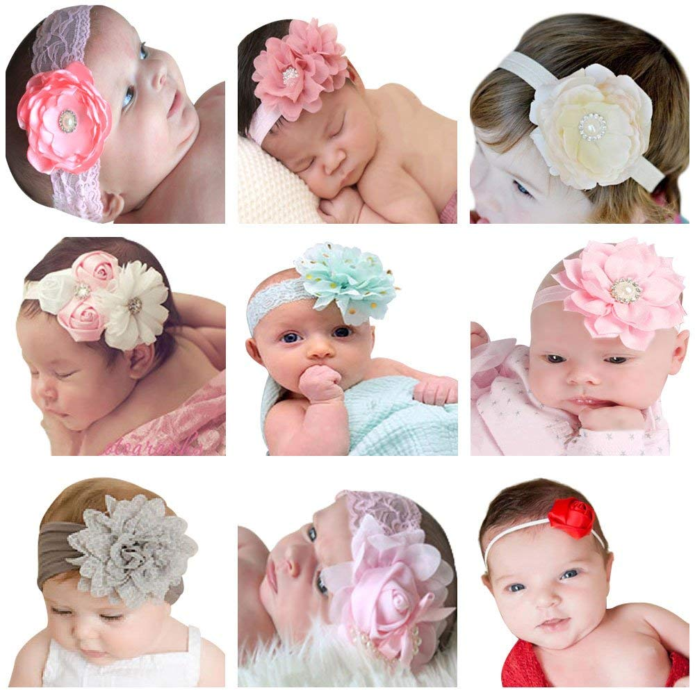 Beautiful Baby Headband Set – Little Duchess Chic Boutique c8c91a95472