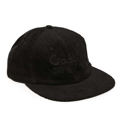 Alpine Tactical Corduroy Unstructured Hat - Black