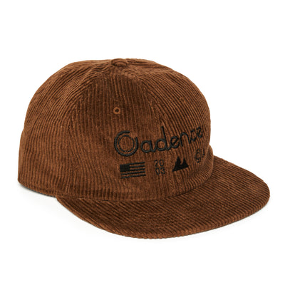 Alpine Tactical Corduroy Unstructured Hat - Brown