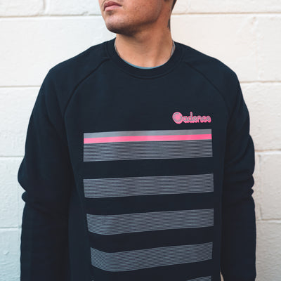 LANES crew neck - NAVY
