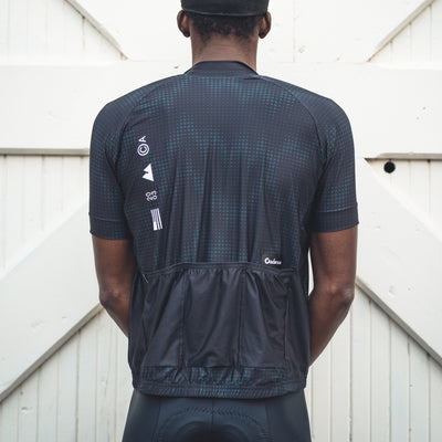 Alpine Reflective Jersey - Black