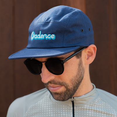 LANES 5-Panel Hat - NAVY