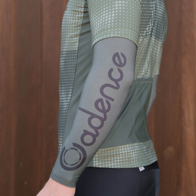 Alpine Radio Arm Warmers - Spruce