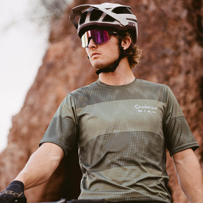 Alpine Radio S/S Mountain Bike Jersey - Spruce