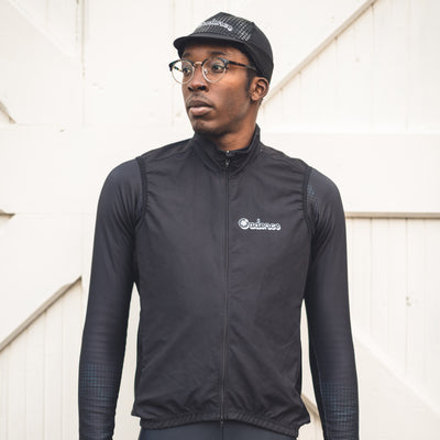 Alpine Reflective Vest - Black