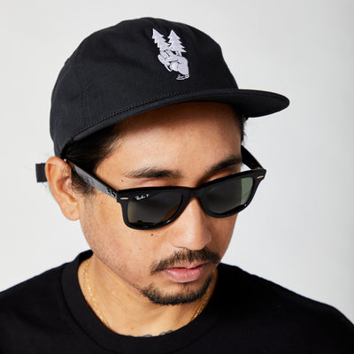 SYOT Unstructured Hat - Black