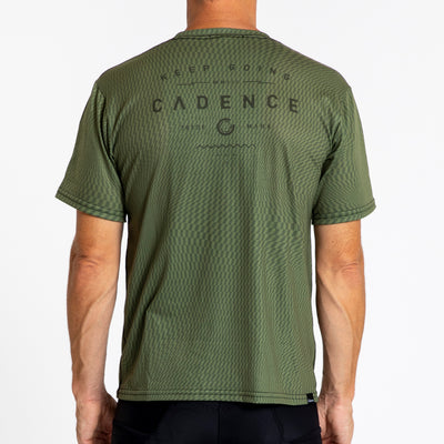 Adventure T-Shirt - Olive Swirl
