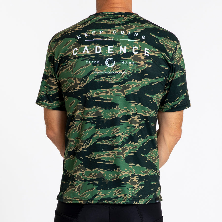 Adventure T-Shirt - Tiger Camo
