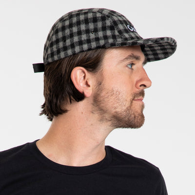 Finn 5-Panel Hat - Buffalo Checker