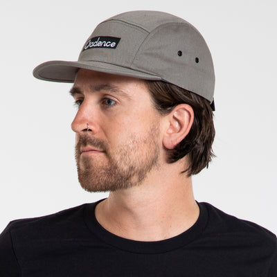 Finn 5-Panel Hat - Grey