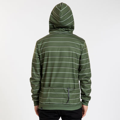 Pull Over Hoodie - Markers - Army Green