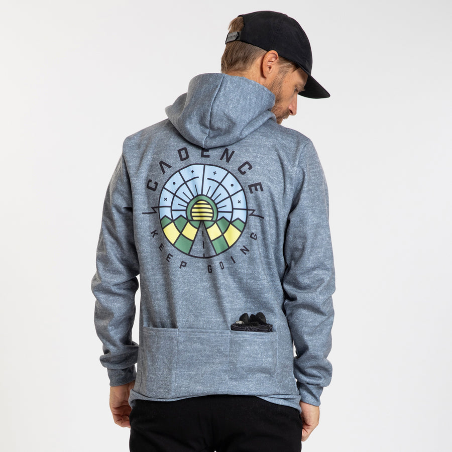 Pull Over Hoodie - Further - Heather Grey