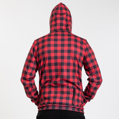 Pull Over Hoodie - Buffalo Red