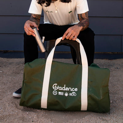 Smoked Duffel Bag