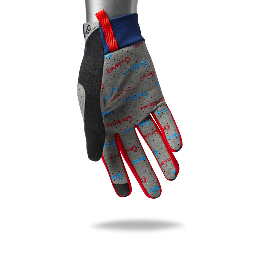 Minimalist Cycling Glove - Blue