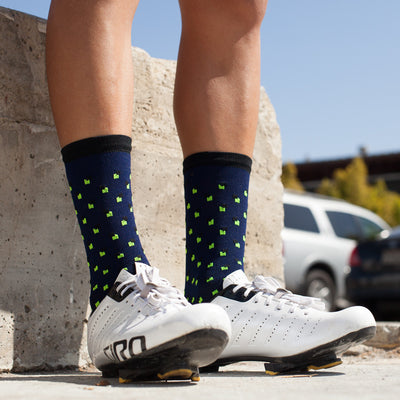 Accent Navy Socks