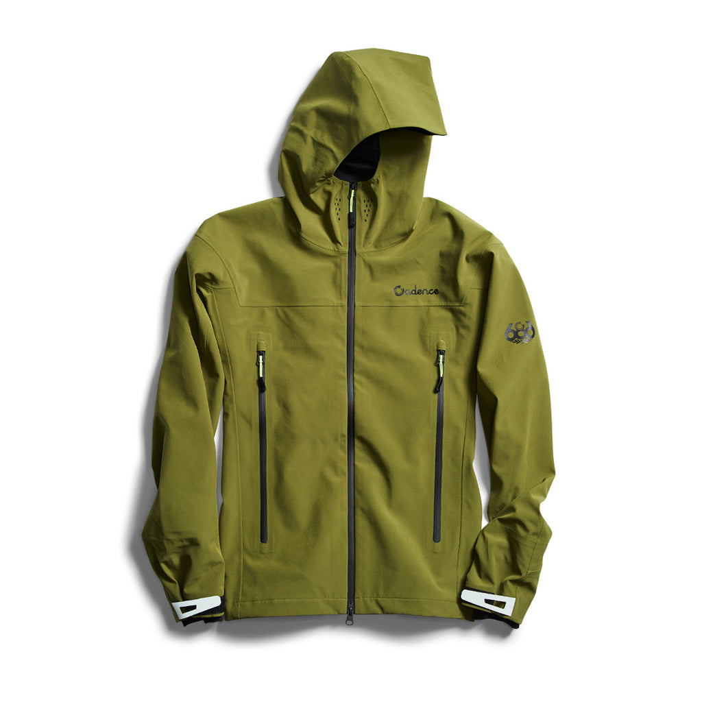 Kenton 3L Rain Jacket - Olive – Cadence Collection
