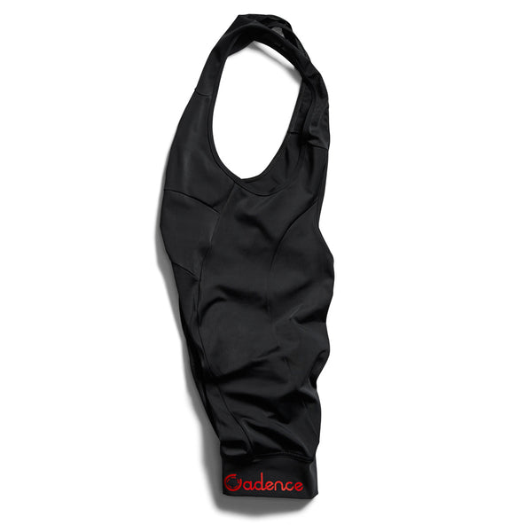 Lux Bib Short - Red logo