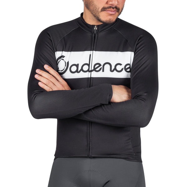 Minus Long Sleeve Jersey - Black