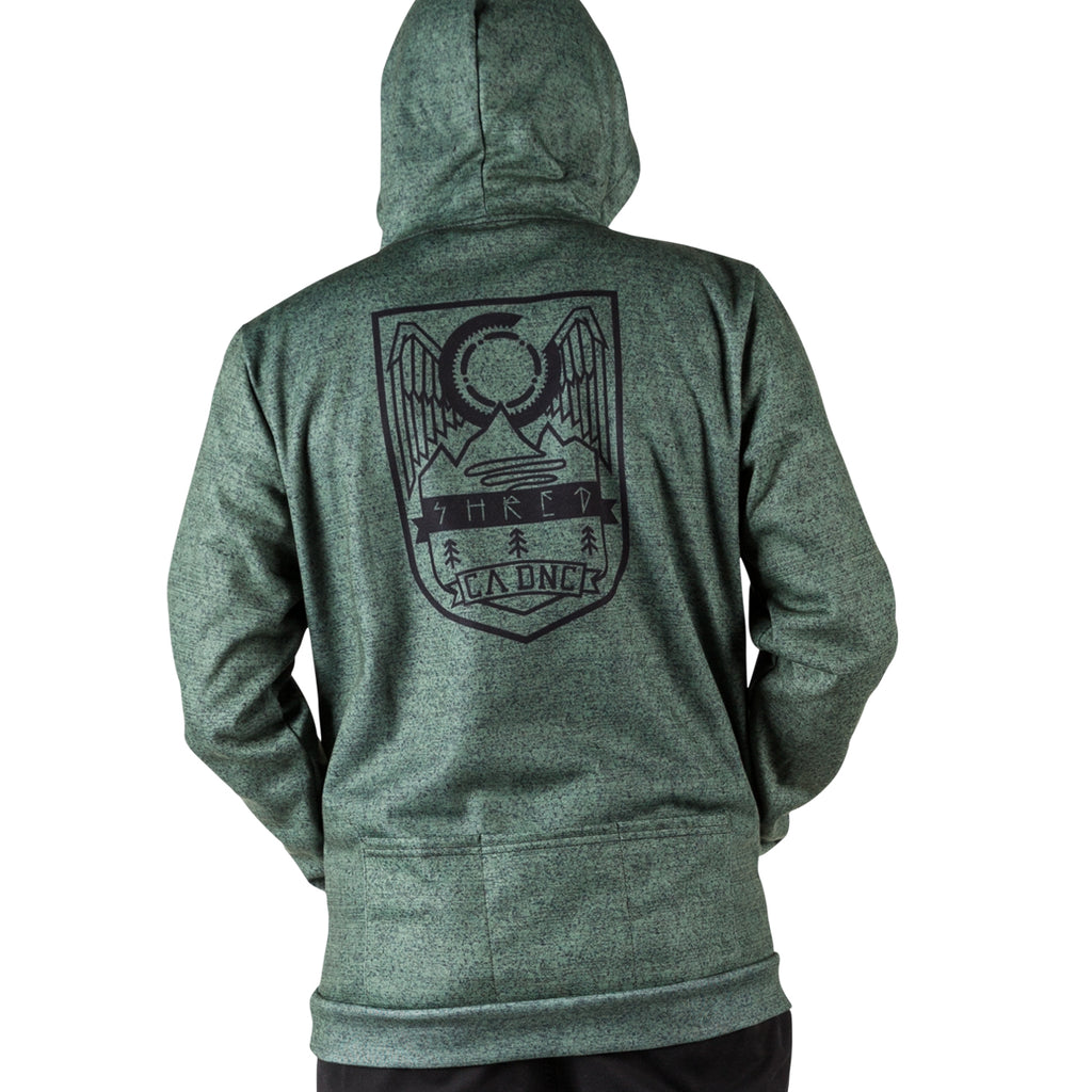Gemini Pull Over Hoodie - Heather Army