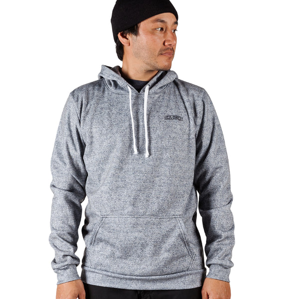 Gemini Pull Over Hoodie - Heather Grey