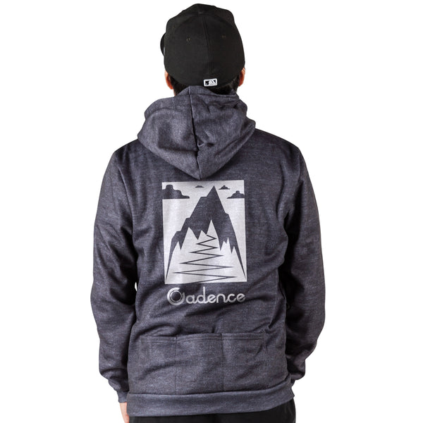 King of the Hill Hoodie - Heather Black