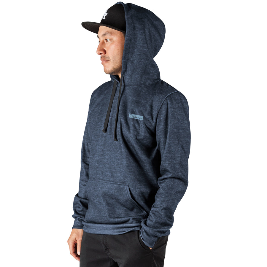 King of the Hill Hoodie - Heather Navy
