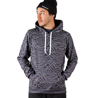 Pulsar Pull Over Hoodie - Heather Black